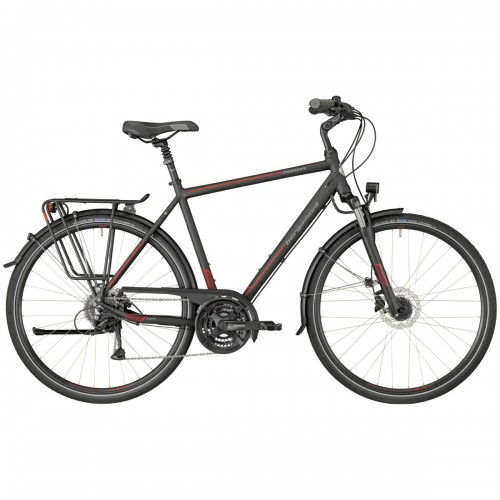 Bergamont Horizon 4.0 Herren Trekking Fahrrad schwarz/rot 2018