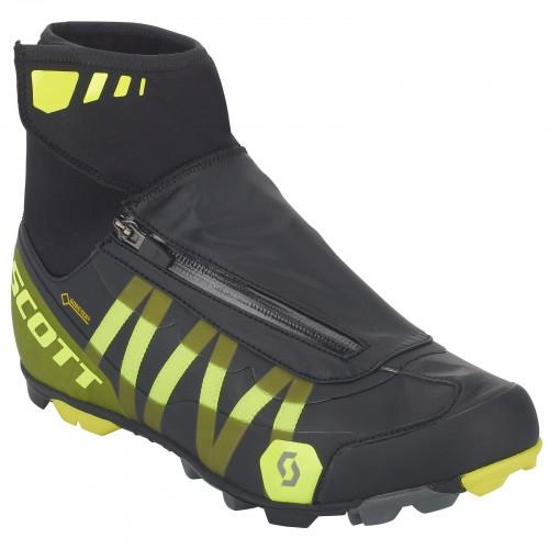 Scott MTB Heater Gore-Tex Fahrrad Schuhe schwarz/gelb 2020