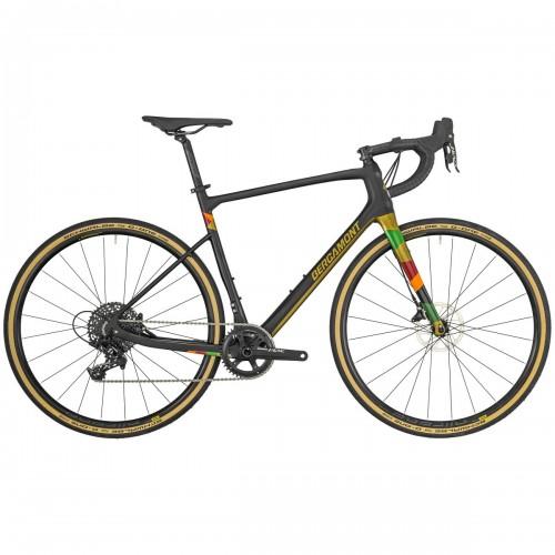 Bergamont Grandurance Elite Carbon Cross Bike Querfeldein schwarz/goldfarben 2019