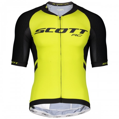 Scott RC Premium ITD Fahrrad Trikot kurz gelb/schwarz 2019