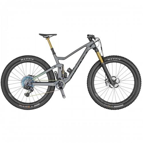 Scott Genius 900 Ultimate AXS 29'' Carbon MTB Fahrrad grau grün 2020