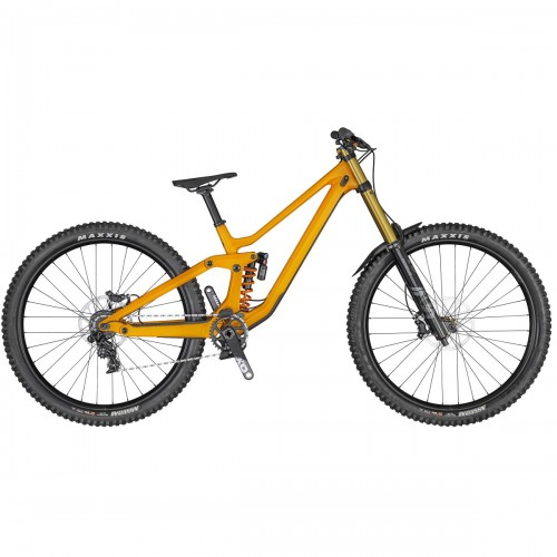 Scott Gambler 900 Tuned 29'' Carbon DH / FR MTB Fahrrad orange 2020