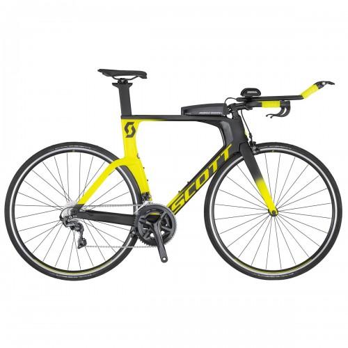 Scott Plasma 10 Carbon Triathlon / Zeitfahrrad schwarz/gelb 2020