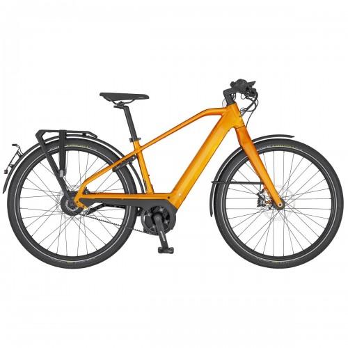 Scott Silence eRide Evo S-Pedelec E-Bike Trekking Fahrrad orange 2020