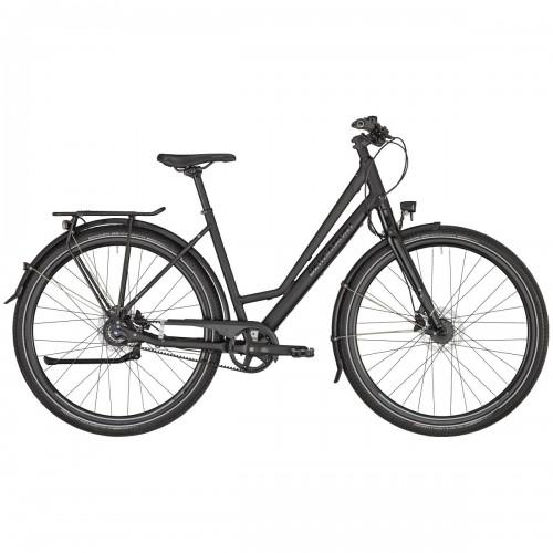 Bergamont Vitess N8 Belt Amsterdam Damen Trekking Fahrrad schwarz 2021