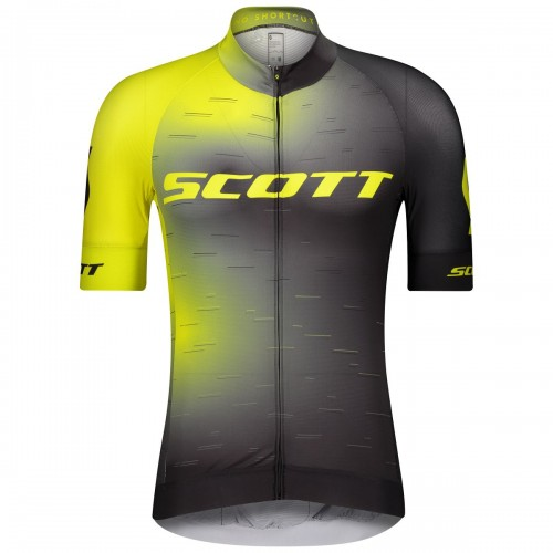 Scott RC Pro Fahrrad Trikot kurz gelb/schwarz 2021
