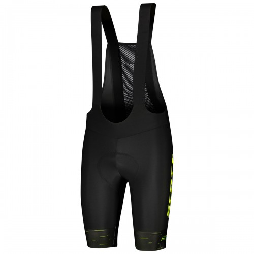 Scott RC Pro +++ Fahrrad Trägerhose kurz schwarz/gelb 2021