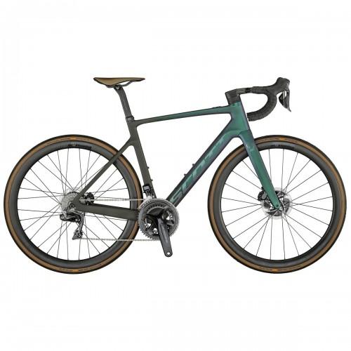 Scott Addict eRide Premium Carbon Pedelec E-Bike Rennrad prism grün/schwarz 2021