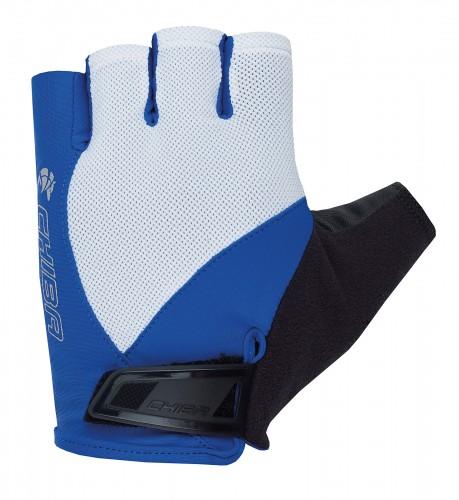 chiba sport pro fahrrad handschuhe kurz wei blau 2019. Black Bedroom Furniture Sets. Home Design Ideas