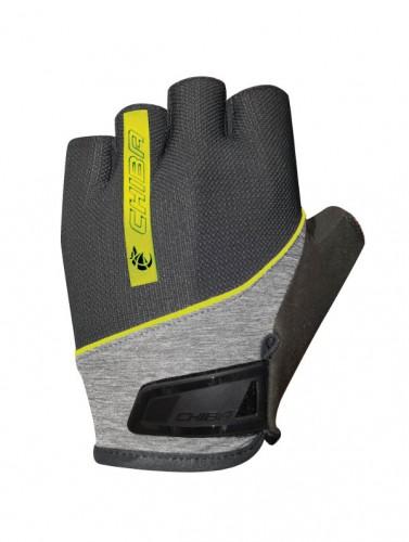 chiba streamliner 2 0 fahrrad handschuhe kurz schwarz gelb. Black Bedroom Furniture Sets. Home Design Ideas