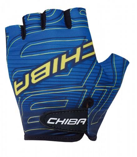 Chiba Kids Kinder Fahrrad Handschuhe kurz blau 2021