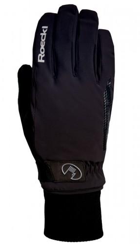 Roeckl Vermes GTX Winter Fahrrad Handschuhe schwarz 2021