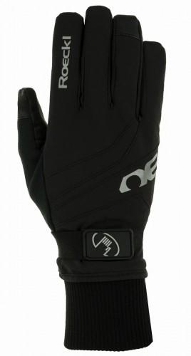 Roeckl Rocca GTX® Winter Fahrrad Handschuhe schwarz 2021