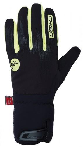Chiba Dry Star Superlight Winter Fahrrad Handschuhe schwarz/gelb 2020