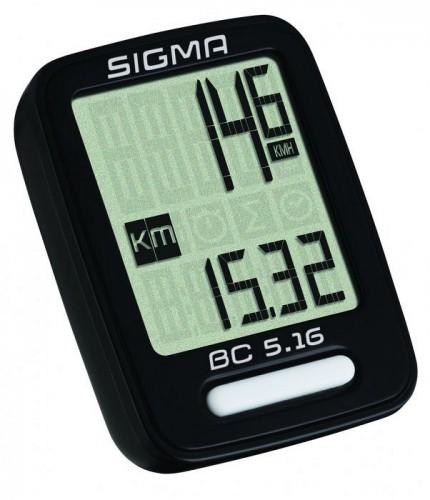 Sigma BC 5.16 Fahrrad Computer schwarz