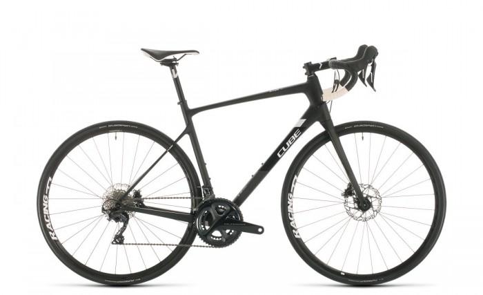 Cube Attain GTC SL Carbon Rennrad schwarz/weiß 2020