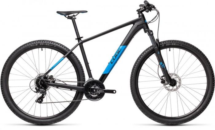 Cube Aim Pro 29'' MTB Fahrrad schwarz/blau 2021