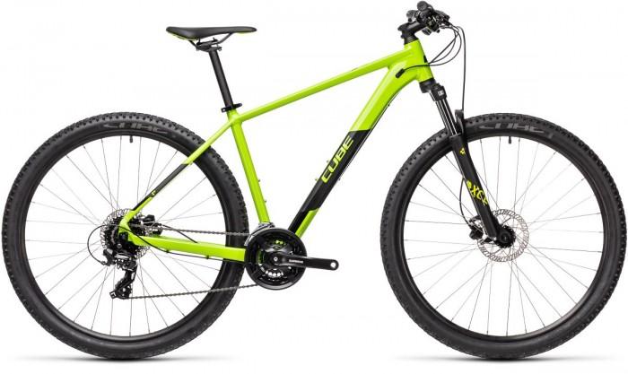 Cube Aim Pro 29'' MTB Fahrrad grün/schwarz 2021