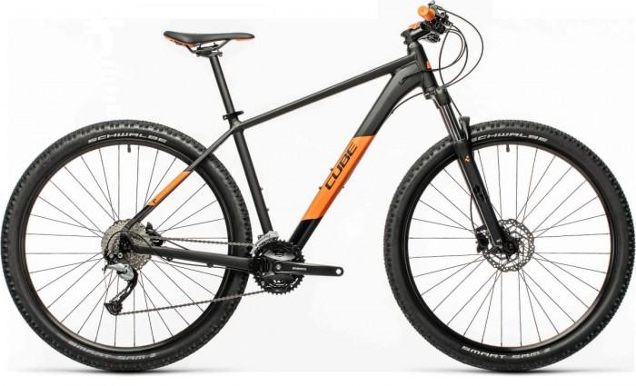 Cube Aim SL 29'' MTB Fahrrad schwarz/orange 2021