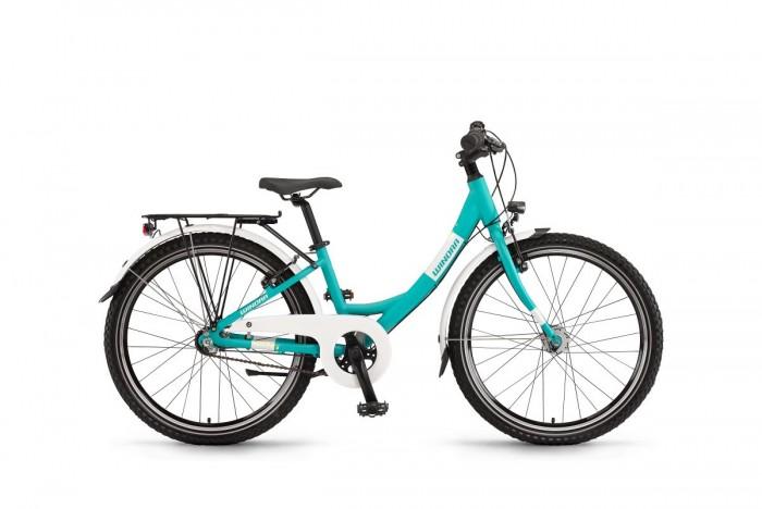 """Winora Chica 24""""7 Gang Kinder Fahrrad cyan blau 2020"""