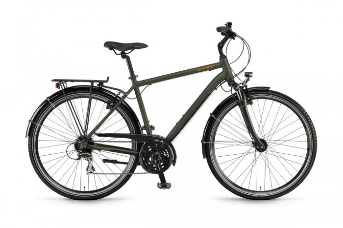 Winora Domingo 24 Trekking Fahrrad oliv grün 2020