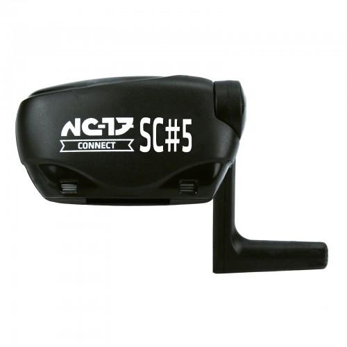 NC-17 Connect SC#5 Speed/Trittfrequenz Sensor ANT+/Bluetooth 4.0 mit IPM schwarz
