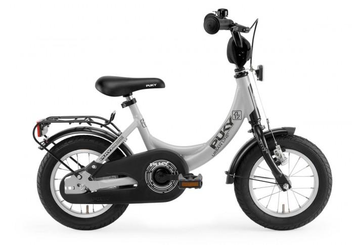 puky zl 12 1 alu kinder fahrrad grau schwarz von top. Black Bedroom Furniture Sets. Home Design Ideas