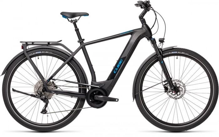 Cube Kathmandu Hybrid Pro 625 Pedelec E-Bike Trekking Fahrrad schwarz/blau 2021