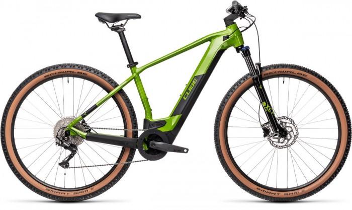 Cube Reaction Hybrid One 500 29'' Pedelec E-Bike MTB grün/schwarz 2021