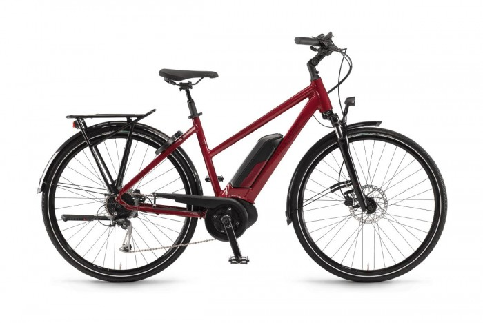 Winora Tria 9 500 Damen Pedelec E-Bike Trekking Fahrrad rot 2021