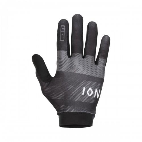 Ion Scrub Fahrrad Handschuhe lang schwarz 2021