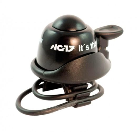 NC-17 Safety Bell Fahrrad Klingel schwarz