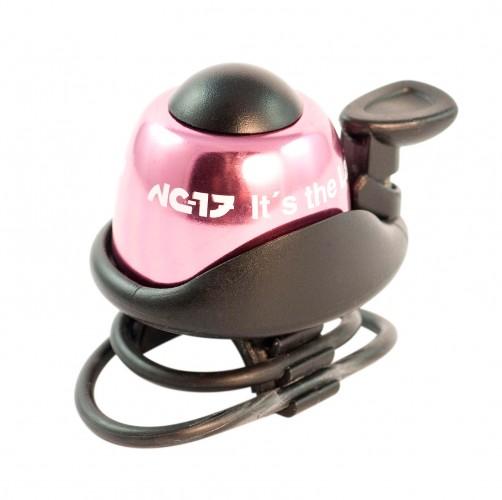 NC-17 Safety Bell Fahrrad Klingel pink