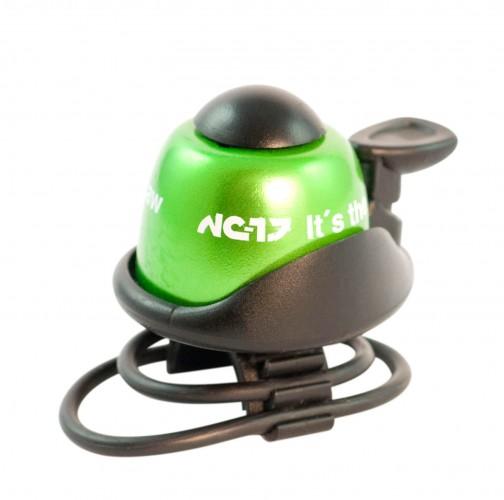 NC-17 Safety Bell Fahrrad Klingel grün