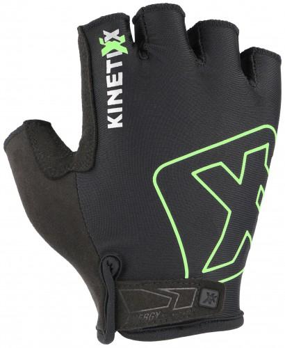 KinetiXx Lou Fahrrad Handschuhe kurz schwarz/grün 2021