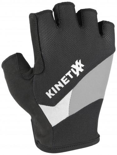 KinetiXx Lano Fahrrad Handschuhe kurz schwarz 2021