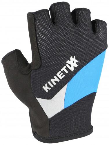 KinetiXx Lano Fahrrad Handschuhe kurz schwarz/blau 2021