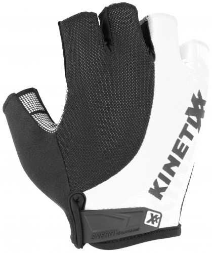 KinetiXx Lonny Fahrrad Handschuhe kurz schwarz/weiß 2021
