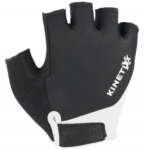 KinetiXx Levi Fahrrad Handschuhe kurz schwarz/weiß 2021
