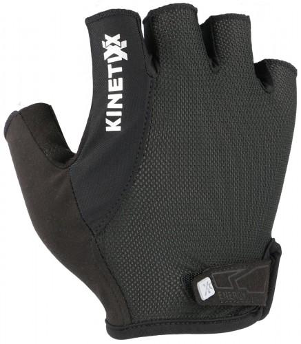 KinetiXx Liam Fahrrad Handschuhe kurz schwarz 2021