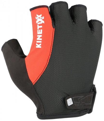 KinetiXx Liam Fahrrad Handschuhe kurz schwarz/rot 2021
