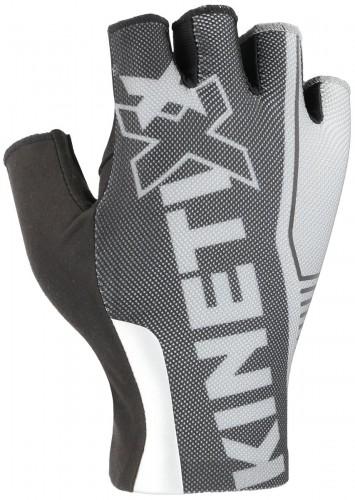 KinetiXx Linus Fahrrad Handschuhe kurz schwarz/weiß 2021