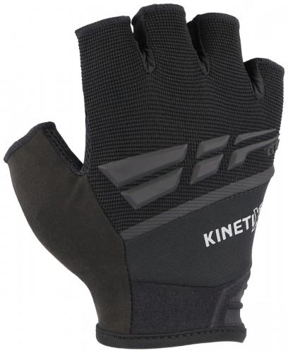 KinetiXx Laif Fahrrad Handschuhe kurz schwarz 2021