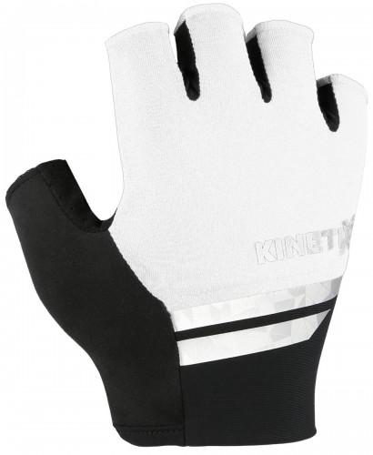 KinetiXx Larry Fahrrad Handschuhe kurz weiß 2021