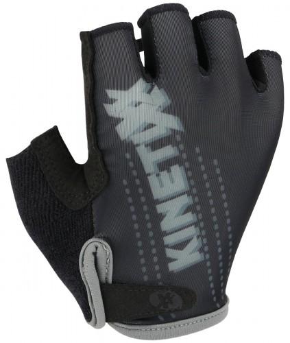 KinetiXx Lenny Kinder Fahrrad Handschuhe kurz schwarz 2021