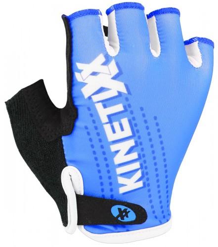 KinetiXx Lenny Kinder Fahrrad Handschuhe kurz blau 2021
