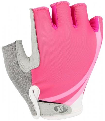 KinetiXx Lasie Kinder Fahrrad Handschuhe kurz pink 2021