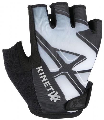 KinetiXx Locke Kinder Fahrrad Handschuhe kurz schwarz/weiß 2021