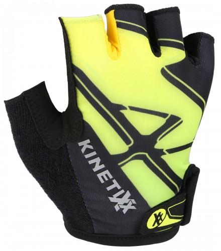 KinetiXx Locke Kinder Fahrrad Handschuhe kurz schwarz/grün 2021