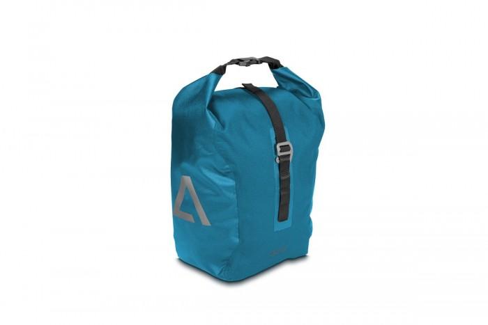 Acid Travlr 15 Fahrrad Gepäckträgertasche wasserdicht blau/schwarz